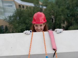 Промышленный альпинизм относится к разряду работ повышенной опасности