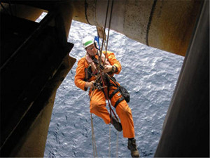Требования техники безопасности в промышленном альпинизме