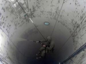 Ремонт АКЗ тренировочной водолазной башни