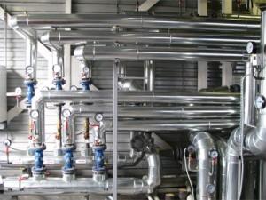 изоляция трубопроводов в котельной