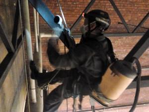 обеспыливание металлоконструкций CRESS НЕВА